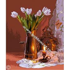 Набор для вышивки GOBLENSET Натюрморт с тюльпанами (G903)