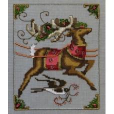 Набор бисера MillHill для дизайна Mirabilia Cupid - Christmas Eve Couriers (NC118E)