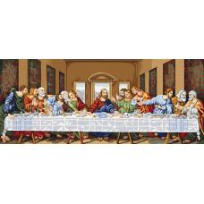 Набор для вышивания крестом Luca-S Тайная вечерья (В407)