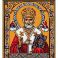 Набор для вышивания крестом Luca-S Святой Николай (В421)
