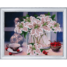 Натюрморт с вишнями (245)