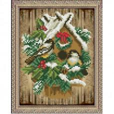 Набор для вышивания крестом Краса і творчість Волшебство рождества (40915)
