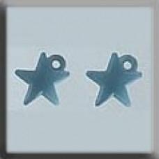 MH 12045 - Very Sm Domed Star Matte Aqua