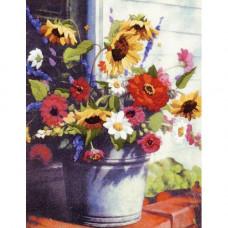 Корзина цветов (01534)