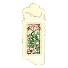 Закладка Изящная лилия (1613АС)