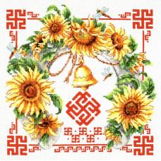 Набор для вышивания крестиком Чудесная игла Гармония и взаимопонимание (88-08)