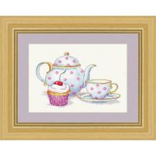 Набор для вышивания крестиком Сделано с любовью Вечерний чай (ВИ-008)