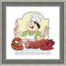Набор для вышивания крестиком Сделано с любовью Сосиски-колбасочки (КТ-040)
