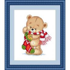Набор для вышивания крестиком Сделано с любовью С Рождеством! (МК-023)