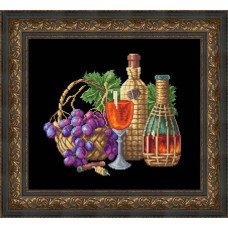 Набор для вышивания крестиком Сделано с любовью Бокал вина (Н-015)