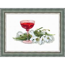 Набор для вышивания крестиком Сделано с любовью Каприз весны (Н-019)