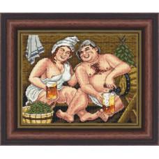 Набор для вышивания крестиком Сделано с любовью Счастливы вместе (РБ-019)