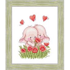 Набор для вышивания крестиком Сделано с любовью Сладкая парочка (РС-006)