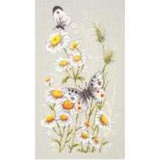 Набор для вышивания крестиком Чудесная игла На ромашковой полянке (42-12)