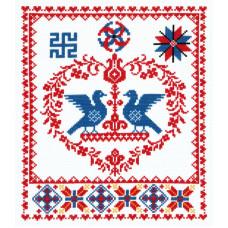 Набор для вышивания крестиком Чудесная игла Счастливая семья (88-04)