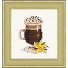 Набор для вышивания крестиком Сделано с любовью Ванильный кофе (ВИ-013)