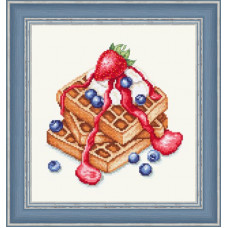 Набор для вышивания крестиком Сделано с любовью Венские вафли (ВИ-021)