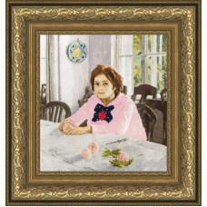 Девочка с персиками (МК-039)*