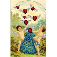 Набор для вышивания бисером Краса і творчість День Св. Валентина 6 (60115)