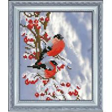 Набор для вышивания крестом Краса і творчість Вестники зимы 1 (61015)