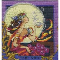 Набор бисера MillHill для дизайна Mirabilia Silver Moon Tea (MD119E)