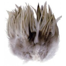 Перья Badger Saddle Hackle Feathers 3 Grams, натуральные (38139)