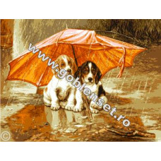 Набор для вышивки GOBLENSET Под зонтом (G909)