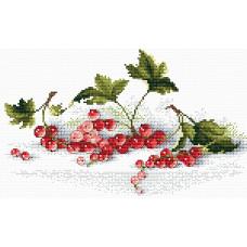 Набор для вышивания крестом М.П.Cтудия Алая гроздь (М-107)