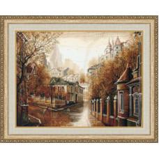 Набор для вышивания крестиком Золотое руно Булгаковская осень (ГМ-037)