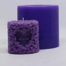 Концентрированный краситель для свечей в блочках, фиолетовый (130416)