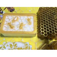 Двойная пластиковая форма для свечи Пчелиная (MW)