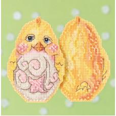 Набор для вышивания Mill Hill Желтый цыпленок (JS181712)