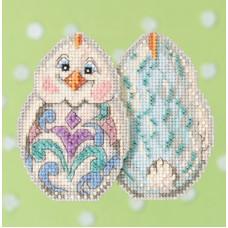 Набор для вышивания Mill Hill Белый цыпленок (JS181713)