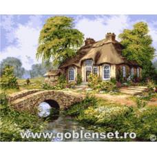 Набор для вышивки GOBLENSET Голландский сельский пейзаж (G1029)