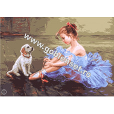 Маленькая балерина (G1055)*