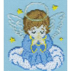Набор для вышивания бисером М.П.Cтудия Ангелок (БК-23)
