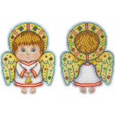 Набор для вышивания крестом М.П.Cтудия Ангел-хранитель (Р-158)