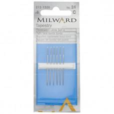 Иглы гобеленовые для вышивки Milward, № 24 (2131320)