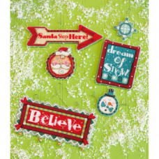 Рождественские украшения Загадочные знаки (70-08953)