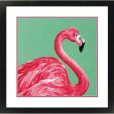 Набор для вышивания крестом Dimensions Розовый фламинго (71-20086)
