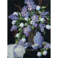 Тюльпаны и кружево (01529)