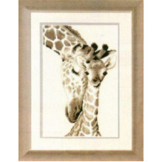 Жирафы: мама и малыш (PN-0012183)
