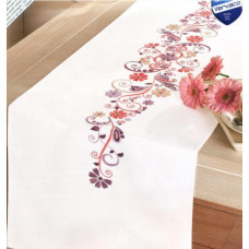 Дорожка на стол Розово-фиолетовая фантазия (PN-0012996)**