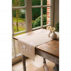 Дорожка на стол Белые птицы (PN-0013131)