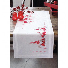 Дорожка на стол Рождественские гномики (PN-0146077)**