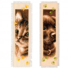 Закладки Кот и пес (PN-0155362)