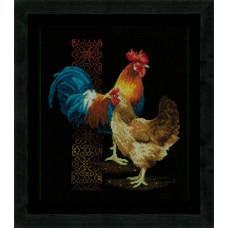 Курица и петух (PN-0162577)**