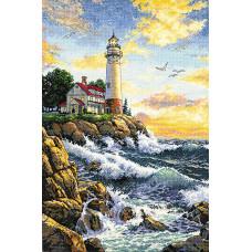 Набор для вышивания крестом Dimensions Скалистый берег (3895)