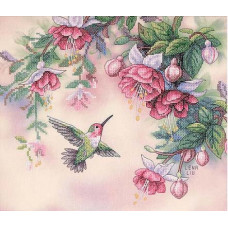 Колибри и фуксии (13139)