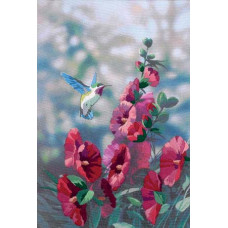 Колибри в цветах (11127)